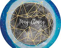 Moon Sticker | May Cheung