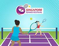 Singapore Tennis Festival Infographic