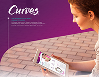 Corporate website for FitCurves