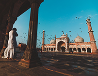 Morning at Jama Masjid