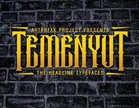Temenyut Typeface