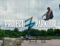 Project Z parkour logo.