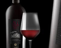 Tenute Gregu - Animosu wine label design