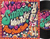 "White Rabbit - 7"" record sleeve"