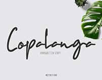 Copalanga Handwritten Script