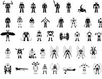 Mazinger Z mechanical beasts