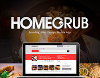 HomeGrub - Easy Online Food Ordering Website