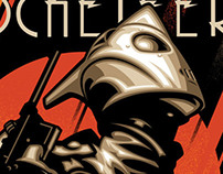 Rocketeer Comic Covers