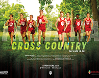 2015 Indiana Cross Country Schedule Poster