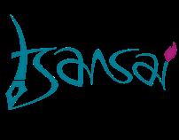 """Tsansai"" branding design process."