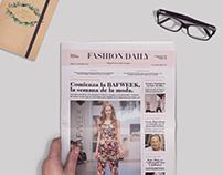 Fashion Daily - Diseño Editorial
