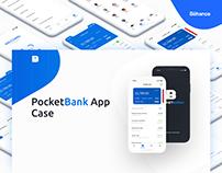 Case. PocketBank App. Beetroot Academy graduate work!