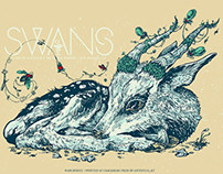 Swans poster