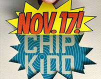 AIGA Boston / Chip Kidd event graphics