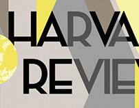 Cover for Harvard Review #41