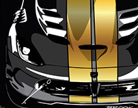 Black and Gold Cars (COPY)