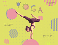 Yoga Modern and Creative Design Templates