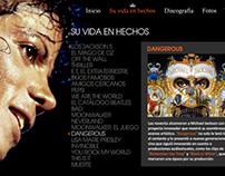 Microsite: Michael Jackson