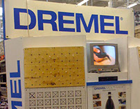Dremel Merchandisers for Home Depot