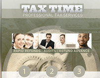 Tax Time Flyer & Business Card