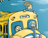 the Stolen Magic School Bus