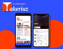 Takeriuz Android App — short stories reader