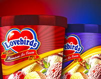 LOVEBIRDS Ice cream