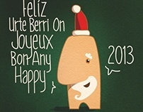 Happy 2013 xmas Card