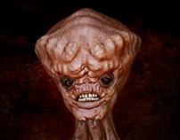 """""""Alien Bust"""" - Concept Design"""