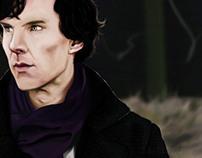 Sherlock | Digital Paint