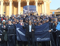 Sanlam at Cape Town Corporate Games 2012