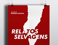 Relatos Selvagens - Cartaz minimalista