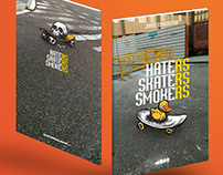 BOOK: Haters Skaters Smokers