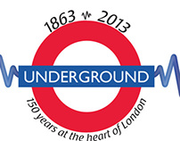 London Underground Commemorative Logo