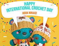International crochet day Amigurumi post