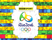 BBC Rio 2016 Olympics Branding