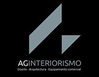 Nueva imagen corporativa (logo) AG INTERIORISMO