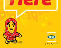 Some of my works for MTN Sudan 2010-2011