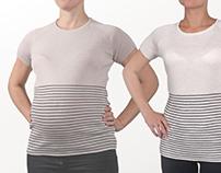 Shrinking maternity clothes