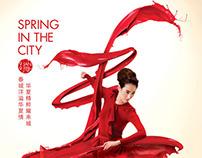 Raffles City Spring Ad