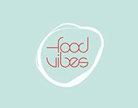"award winning rebranding for ""foodvibes"""