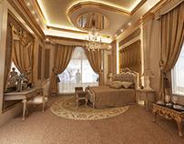 Classic Antique Bedroom