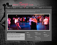 Perth Tango Club Website 2012