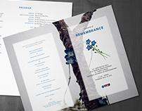 Ceremony of Remembrance  |  Memorial University