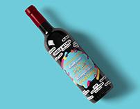 Savage Wines - Wine Label