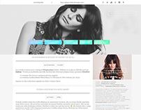 Lea Michele Wordpress