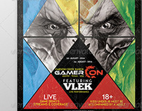 GamerCon - V1 - Flyer Template - Imperius