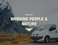 Honest Adventure Vehicles - Brand Design