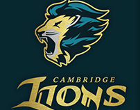 Cambridge Lions - Conceptual Hockey Team