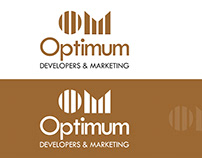 Logo Design | Optimum Developers & Marketing